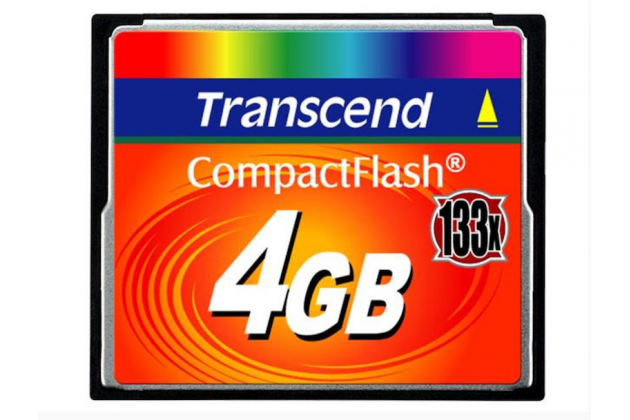 Карта памяти Compact Flash Card 4 GB CF133 для мультимедийной техники