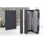 Фирменный чехол для Microsoft Surface/Surface Pro черный с секцией под клавиатуру кожаный