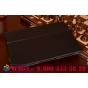 """Фирменный оригинальный чехол обложка с подставкой для Microsoft Surface 3 10.8"""" черный кожаный"""