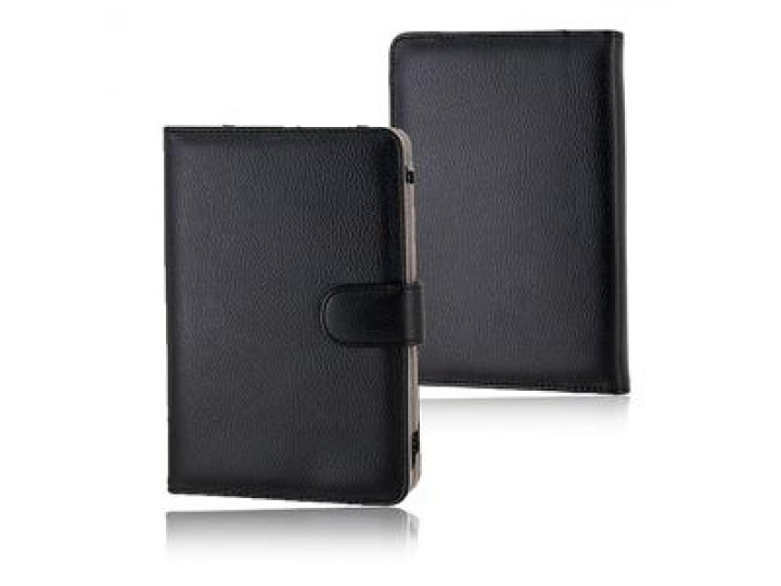 Чехол для Amazon Kindle 3 кожаный черный..