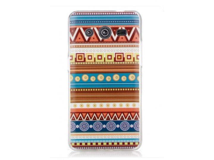 Фирменная роскошная задняя панель-чехол-накладка с безумно красивым расписным эклектичным узором на Samsung GA..