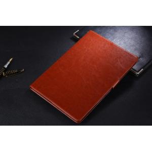 Фирменный чехол для Samsung Galaxy Note 10.1 N8000 из кожи коричневый