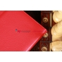 Чехол для Samsung Galaxy Note 10.1 N8000 красный кожаный