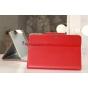Чехол для Samsung Galaxy Note 10.1 N8000 красный кожаный..