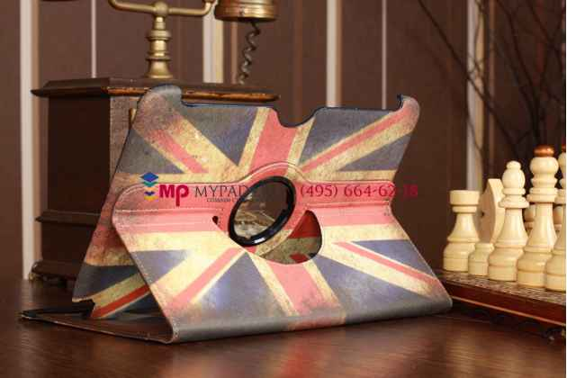 "Чехол для Samsung Galaxy Note 10.1 N8000 ""тематика британский флаг"" кожаный"