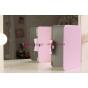 Чехол для Samsung Galaxy Note 10.1 N8000 розовый кожаный