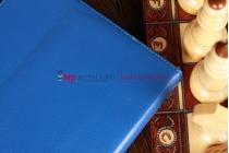 Чехол для Samsung Galaxy Note 10.1 N8000 синий кожаный