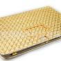 Эксклюзивный чехол для Samsung Galaxy Note 10.1 N8000/N8010 кожа крокодила золотой. Только в нашем магазине. Количество ограничено.