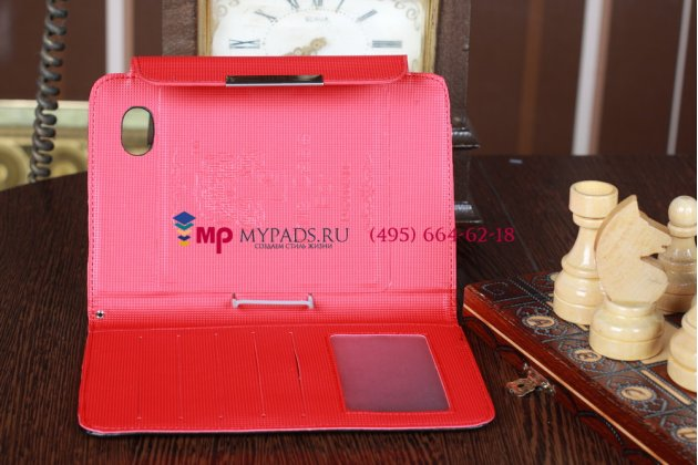 "Чехол для Samsung Galaxy Tab 2 7.0 P3100 ""тематика Pretty Cute"" черный кожаный"