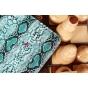 "Чехол для Samsung Galaxy Tab 2 7.0 P3100 ""змеиная кожа"" голубой"