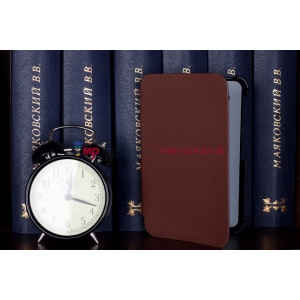 Чехол для Samsung Galaxy Tab 2 7.0 P3100 коричневый кожаный