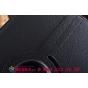 Чехол для Samsung Galaxy Tab 2 10.1 P5100 черный поворотный кожаный