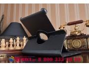Чехол для Samsung Galaxy Tab 2 10.1 P5100 черный поворотный кожаный..