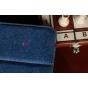 Чехол для Samsung Galaxy Tab 2 10.1 P5100 джинсовый с кожей