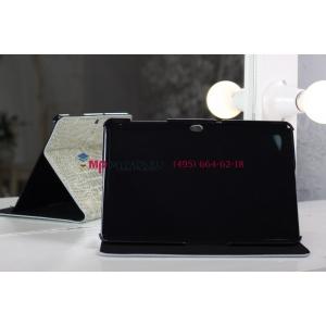 Чехол для Samsung Galaxy Tab 2 10.1 P5100 кожа крокодила серый