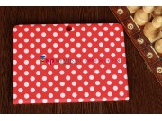 Чехол для Samsung Galaxy Tab 2 10.1 P5100 красно-белый далматинец..