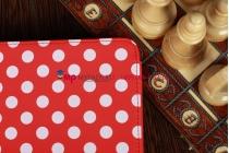 Чехол для Samsung Galaxy Tab 2 10.1 P5100 красно-белый далматинец