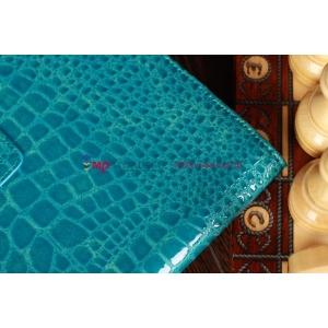 Лаковая блестящая кожа под крокодила фирменный чехол для Samsung Galaxy Tab 2 10.1 кожа крокодила цвет морской волны