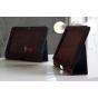 Чехол для Samsung Galaxy Tab 2 10.1 P5100 коричневый кожаный