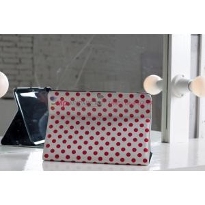 Чехол для Samsung Galaxy Tab 2 10.1 P7500 красно-белый далматинец