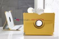 Чехол для Samsung Galaxy Tab 2 10.1 P5100 поворотный желтый