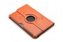 Чехол для Samsung Galaxy Tab 2 10.1 P5100 поворотный оранжевый