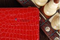 Чехол для Samsung 7.7 P6800 кожа крокодила красный