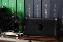 Чехол для Samsung 7.7 P6800 поворотный коричневый кожаный №2