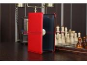 Чехол для Samsung 7.7 P6800 поворотный красный кожаный..