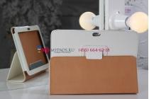 Чехол для Samsung Galaxy Tab 8.9 P7300 белый кожаный