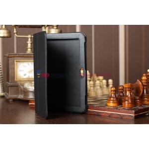 Чехол для Samsung 8.9 P7300 черный кожаный