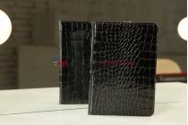 Чехол для Samsung 7.7 P6800 кожа крокодила черный