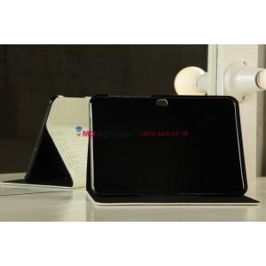 Чехол для Samsung 8.9 P7300 кожа крокодила белый