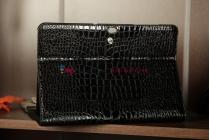 Чехол для Samsung 8.9 P7300 кожа крокодила черный