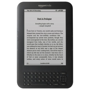 Электронная книга Amazon Kindle 3 Wi-Fi + 3G черный