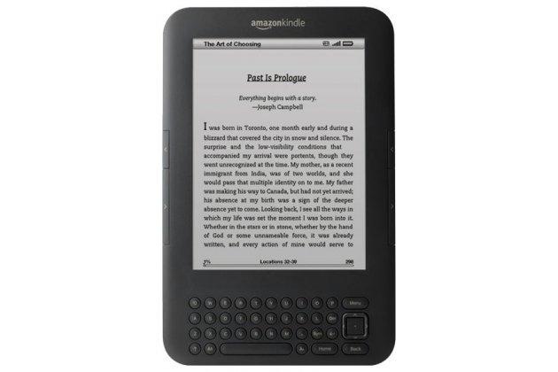 Электронная книга Amazon Kindle 3 Wi-Fi + 3G черный