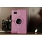 Чехол для Samsung 7.0 P6200 поворотный фиолетовый