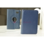 Чехол для Samsung 7.0 P6200 поворотный синий кожаный