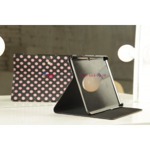 Чехол для Samsung Galaxy Tab 2 10.1 P5100 черно-розовый далматинец