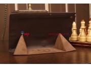 Чехол-обложка для Sony Xperia Tablet Z SLIM коричневый полиуретановый..