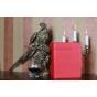 Чехол для Sony Xperia Tablet S красный кожаный