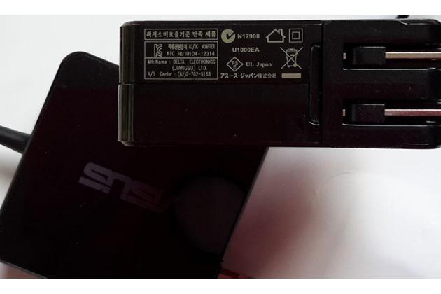 Фирменное зарядное устройство блок питания от сети для ноутбука Asus Transformer Book Tp500L 19V 3.42A (5.5*2.5 мм) + гарантия