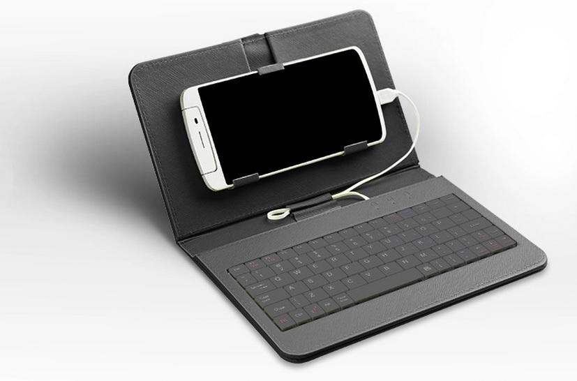 клавиатура в комлпекте с чехлом для телефона Asus Fonepad Note 60