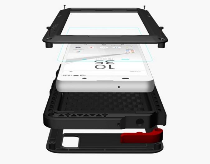 Чехол Sony Xperia Z5 Compact BROSCO Black Z5C-SLIMFLIP-BLACK